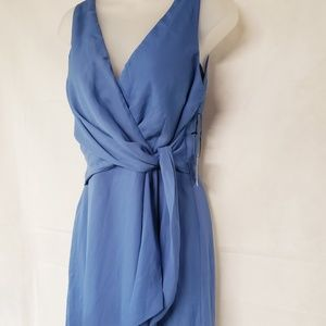 Lulu's Dresses - Lulus Slate Blue High Low Dress NWT